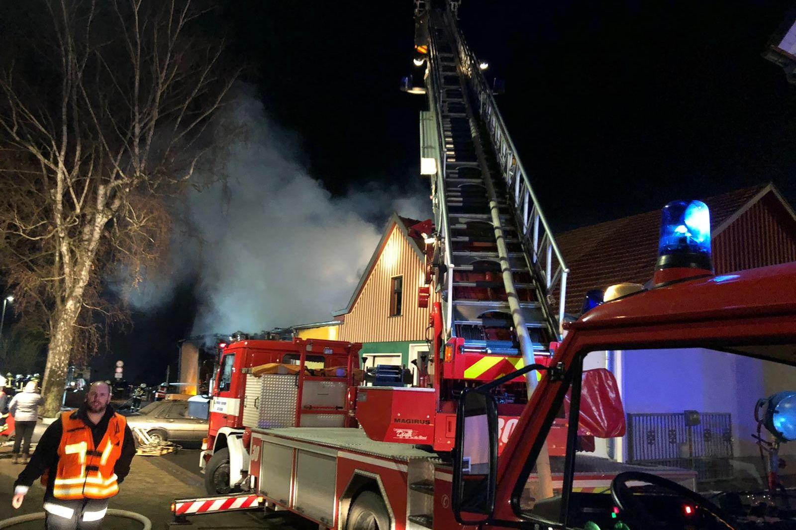 Brand Gießen